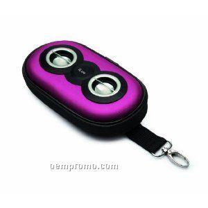 Iluv Portable Stereo Speaker Case Pdq