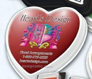 Magna-snaps Refillable Stock Flag Dispenser (Heart)
