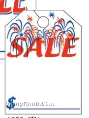 """V-t Special Event Mirror Hang Tags (4th Of July) 8 1/2""""X11 1/2"""""""