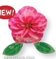 """9"""" Mini Photo Pink Flower Balloon"""