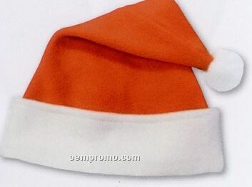 Custom Polar Fleece Santa Hat