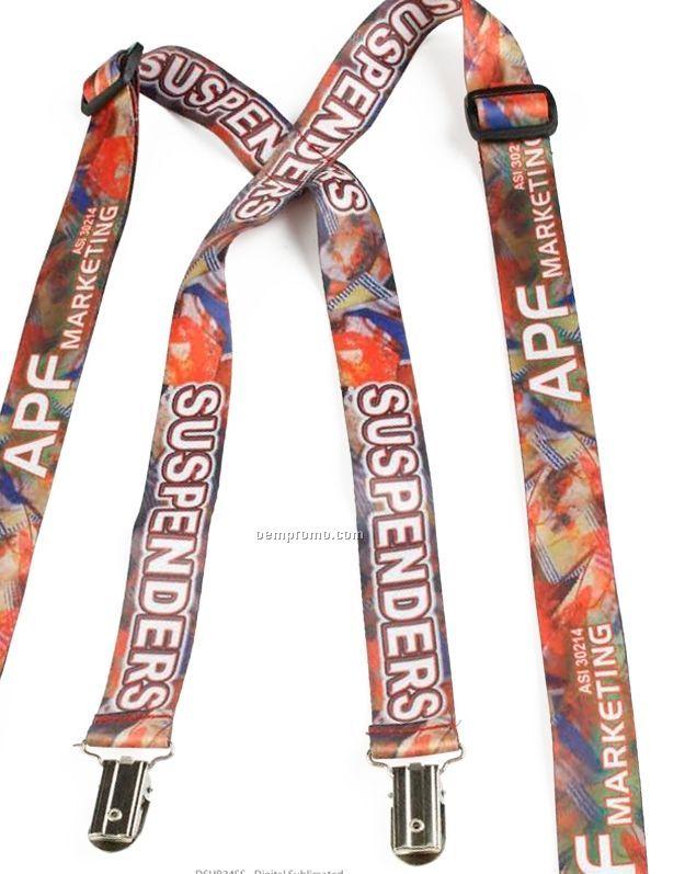"Digital Web Woven Suspenders (3/4""X48"")"