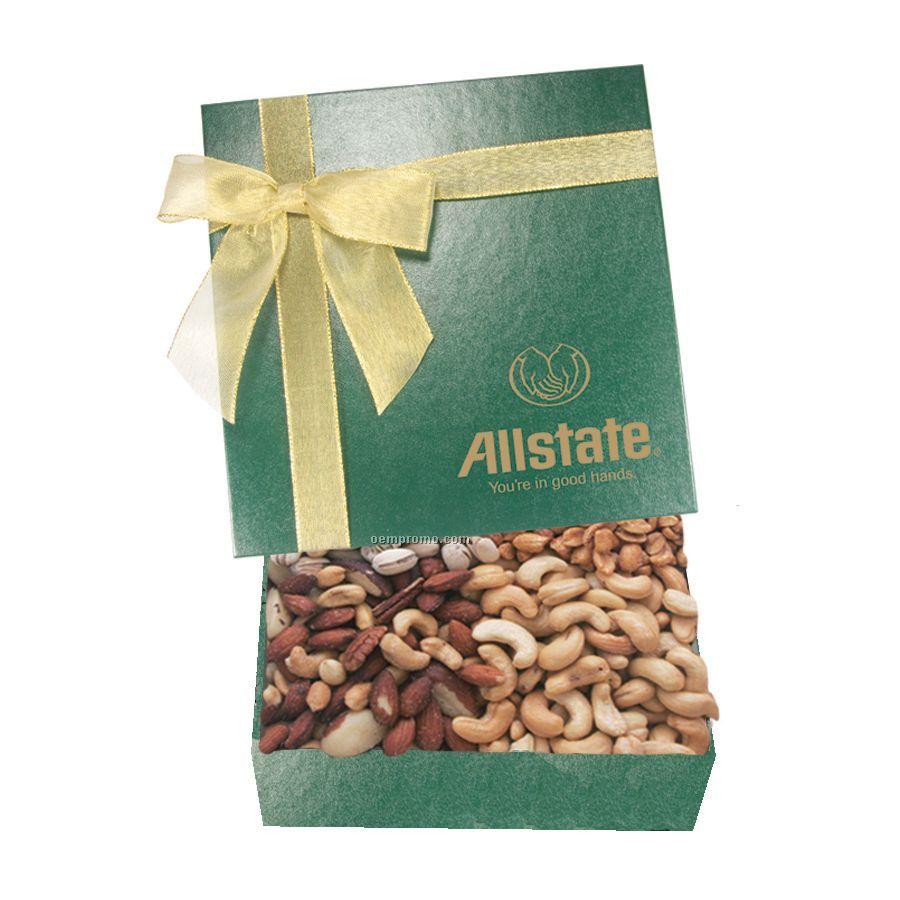The Chairman Green Nut Box