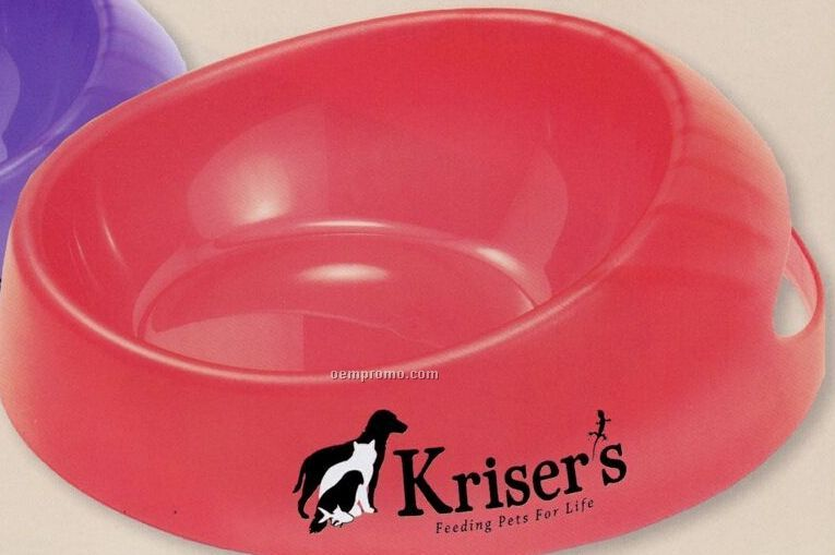 Medium Pet Food Scoop It Bowl