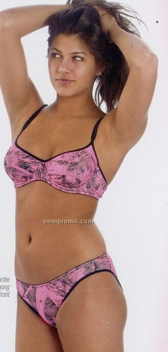 Naked North Pink Camo Pantie