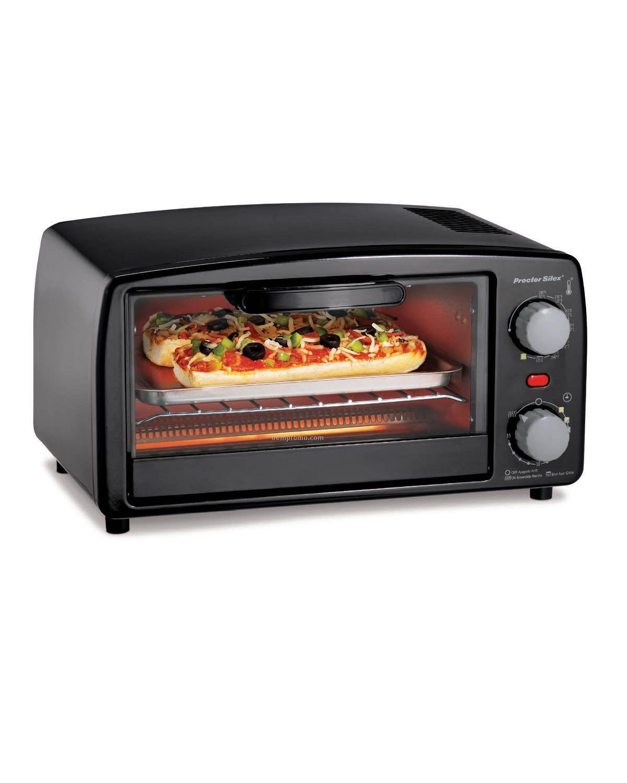 Proctor Silex 4 Slice Toaster Oven W/ Baking Pan