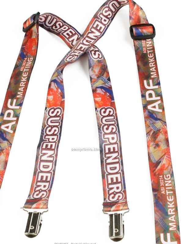 "Thin Nylon Suspenders (3/4""X48"")"