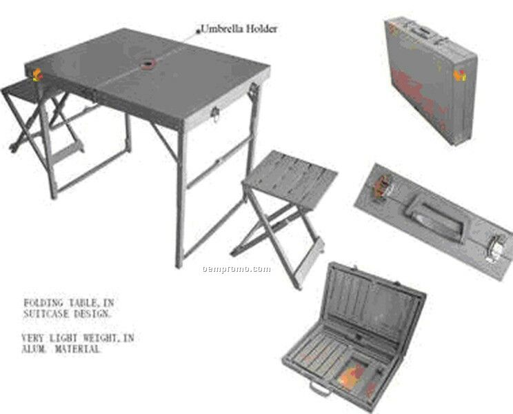 Foldable Table W/Chairs