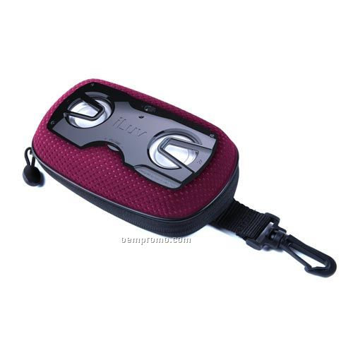 Iluv - Audio Systems Portable Outdoor Speaker Case - Pdq - Pink