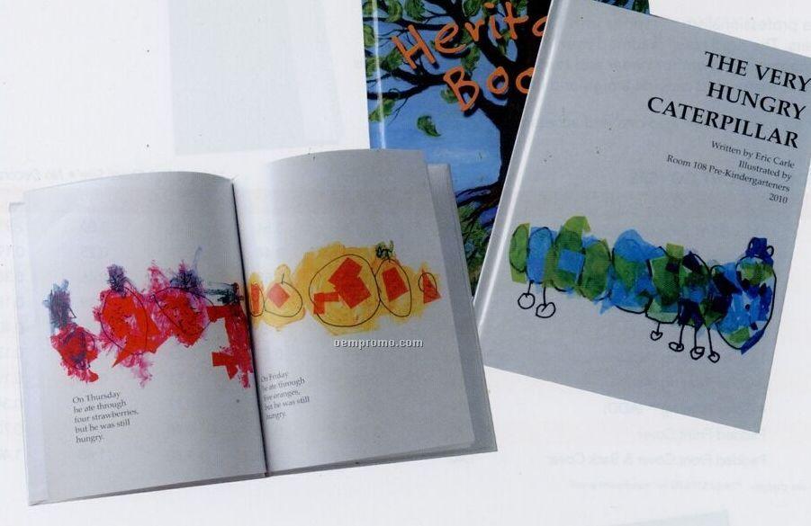 "Book Publishing - Digitally Printed Hardcover Bound Books (11""X8 1/2"")"