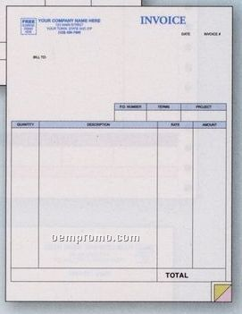 Classic Laser Service Invoice (1 Part)
