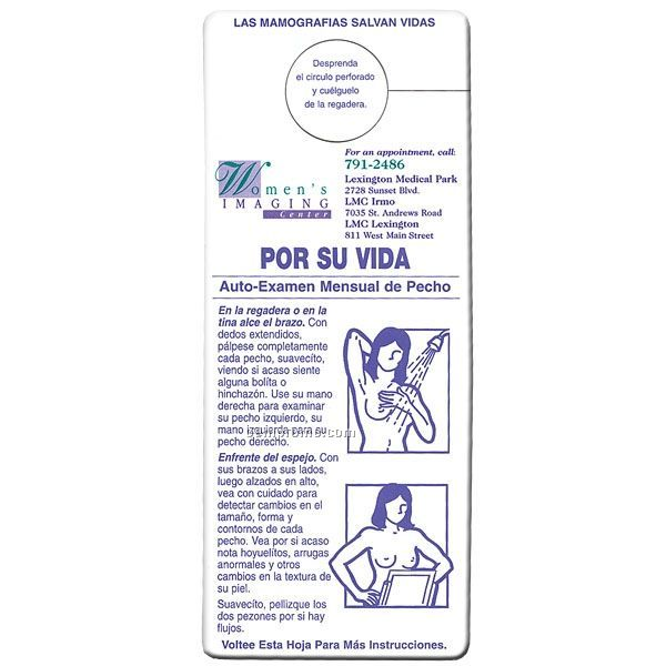 Monthly Breast Self-exam Chart In Spanish