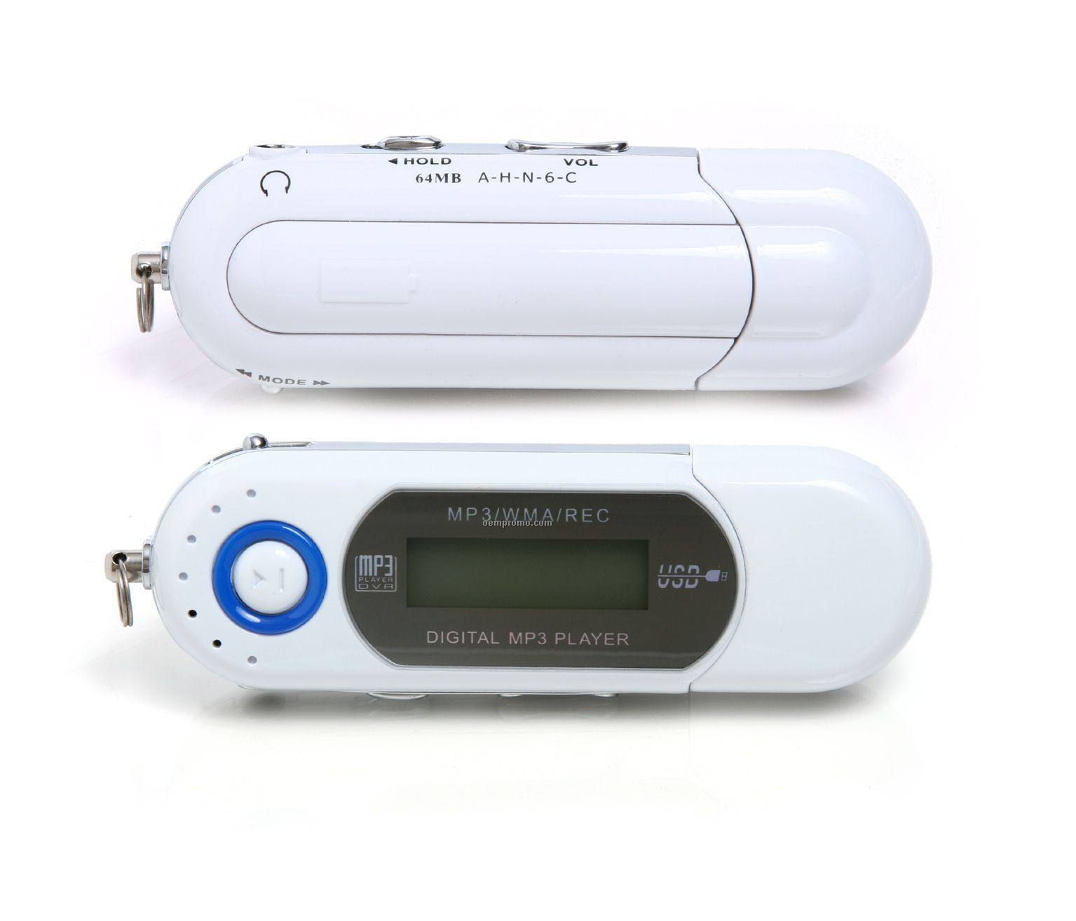 Spin Mp3 Player W/ Voice Recorder (512 Mb)