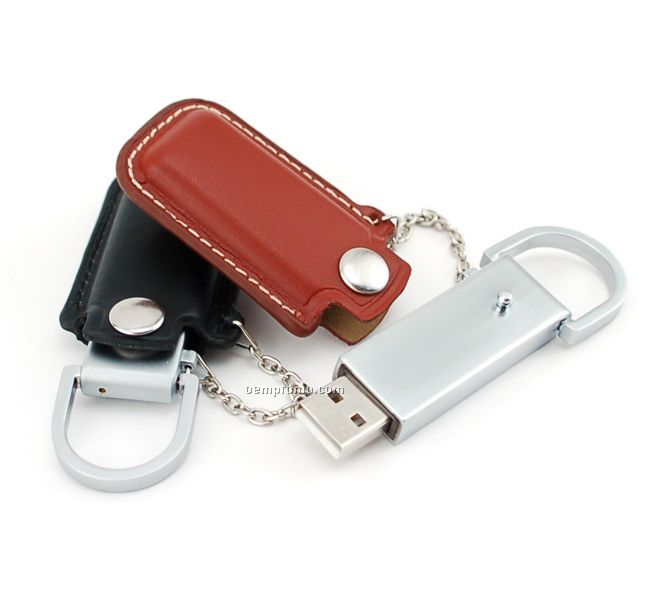 4 Gb USB Leather 400 Series