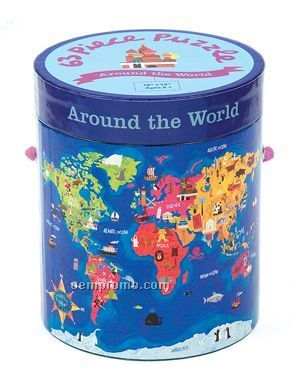 Around The World 63-piece Puzzle