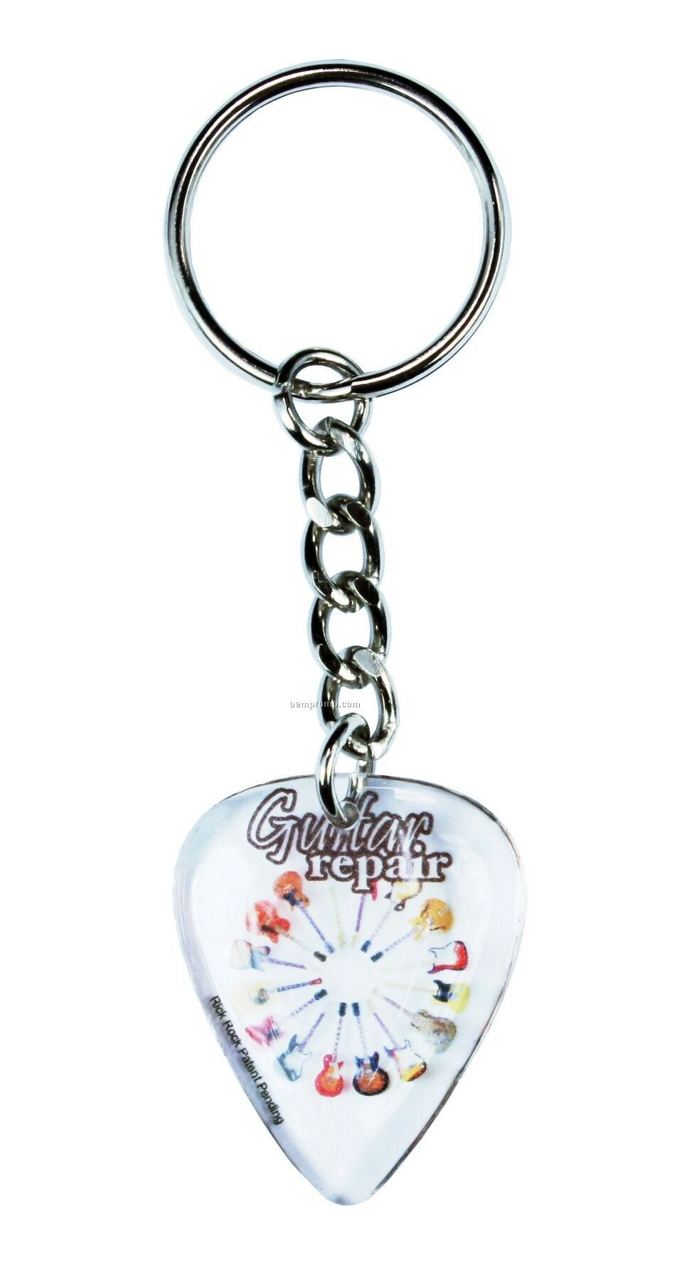 Custom Pick Key Chain Custom Pick Key Chain Custom Pick Key Chain
