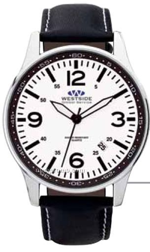 Watch Creations Unisex Polished Silver Watch W/ Retention Ring