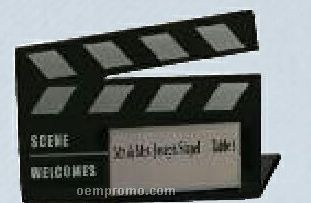 "Acrylic Placeholder Clapboard (3""X3"")"