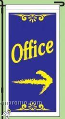 "Stock Ground Banner & Frame (Office) (14""X30"")"