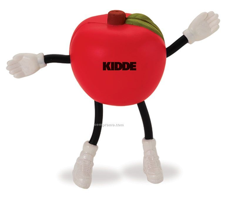 Apple Man Squeeze Toy