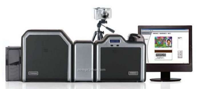 Dual Sided Photo Id Printing System