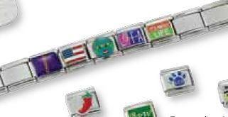 Expansion Link Bracelet With 1 Charm
