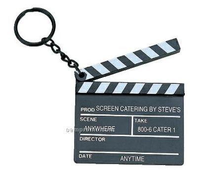 Mini Clapboard Key Chain