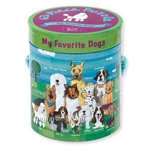 My Favorite Dogs 63-piece Puzzle