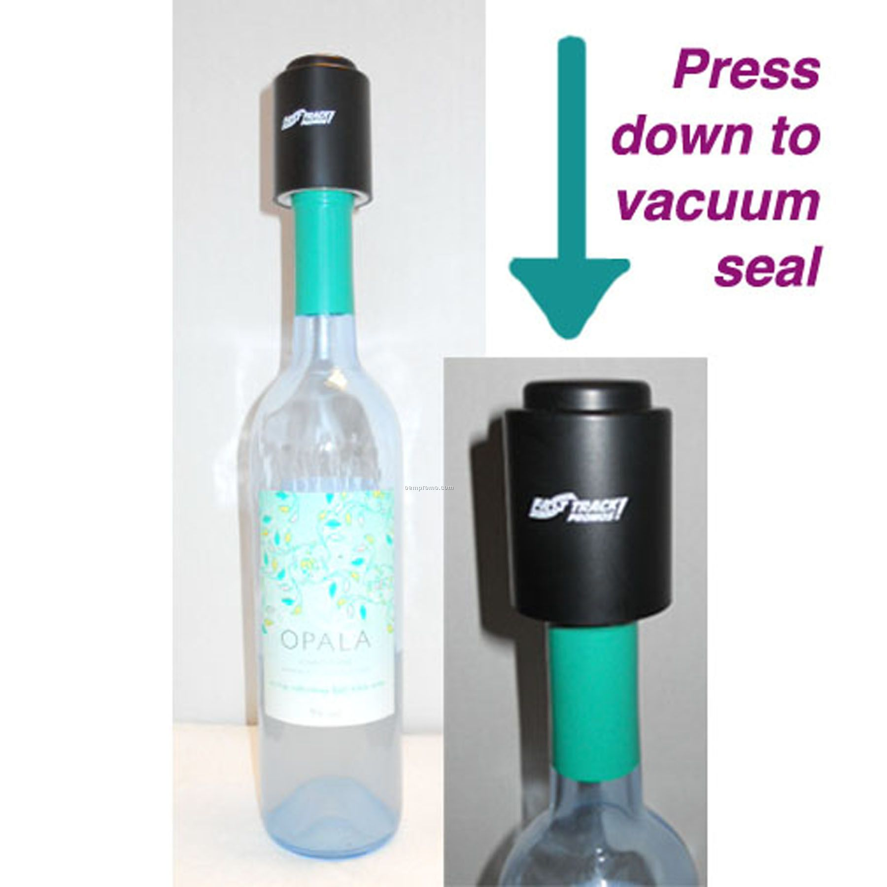 Premium Black Vacuum Wine Stopper