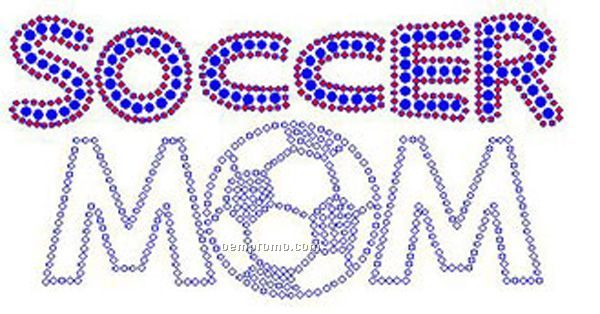 Soccer Mom Rhinestone Transfer