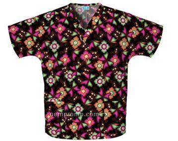 Unisex Two Pocket Top (Chasing Butterflies Print)