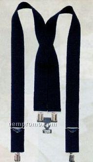 Black Pants Suspenders