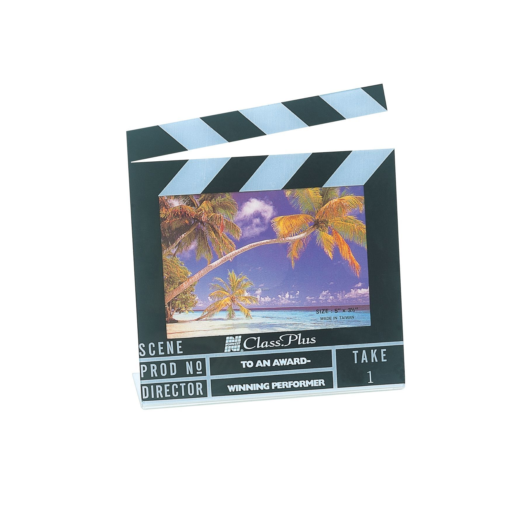 Clapboard Shape Picture Frame