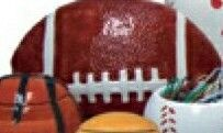 """Football Specialty Cookie Keeper (9""""X6""""X5"""")"""