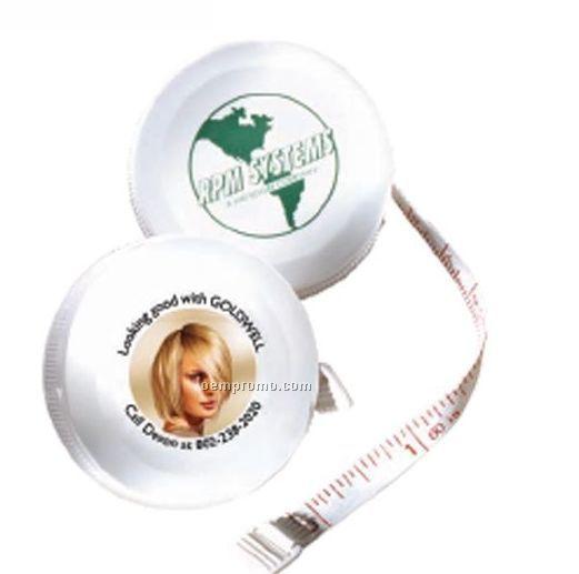 Franklin Round Tape Measure W/ Retracting Button