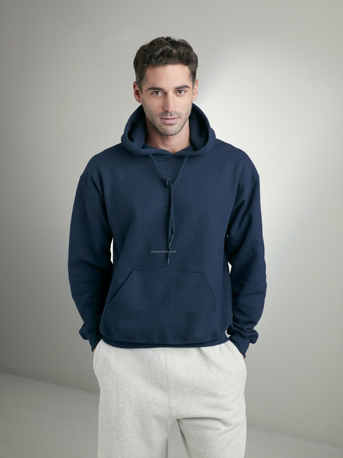 Gildan Ultra Blend Pullover Hooded Sweatshirt - Ash Grey
