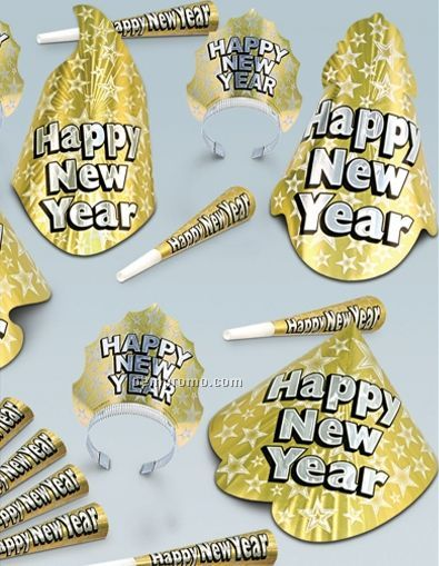 Gold Sophisticate New Year Assortment For 20 People