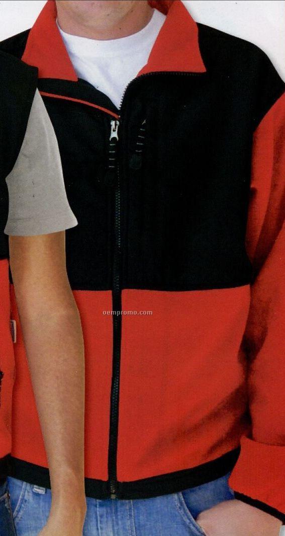 Men's Rainer Peached Microfiber Woven Topped 440 Gram Jacket (Blank 2xs-xl)
