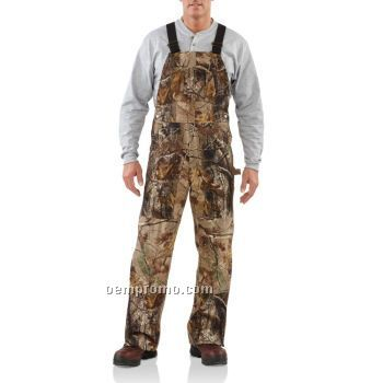 Work Camo Ap Bib Overall Unlined