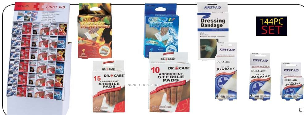 Dr. Care 144 PC First Aid Display