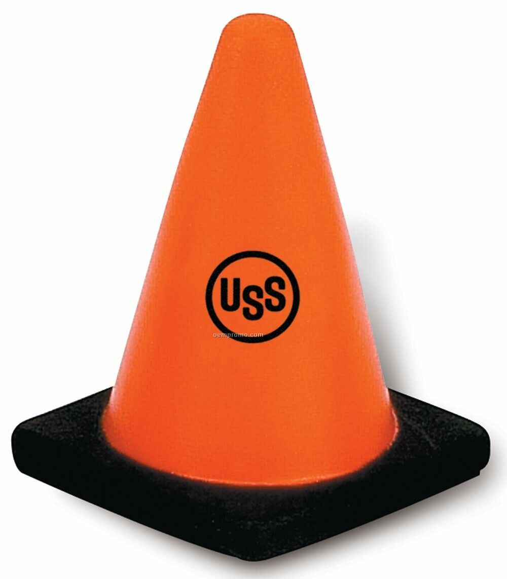Traffic Cone Squeeze Toy