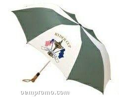 "Haas-jordan Folding Golf Umbrella With Steel Ribs (58"" Arc)"