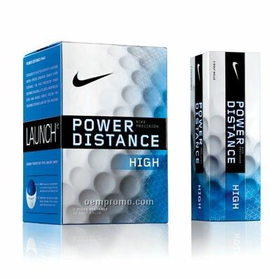 Nike New Power Distance High Golf Balls