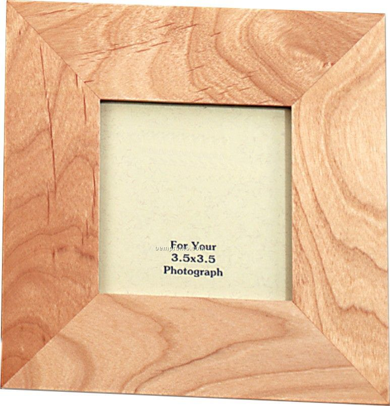 Simple Wood Picture Frame- 3 1/2\