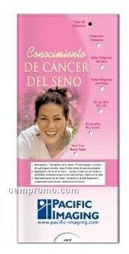 Spanish Pocket Slider Chart - Breast Cancer Awareness