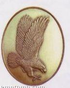American Eagle High Relief Medallion Bolo Tie