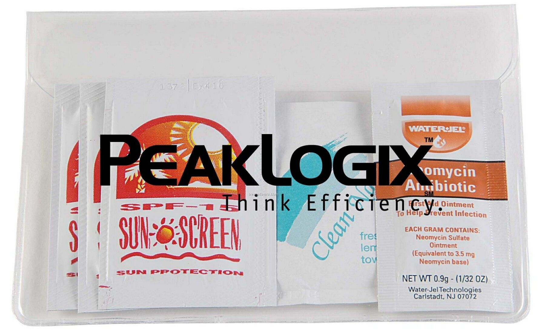 Pillowline Outdoors Kit W/ Bandages/Sunblock