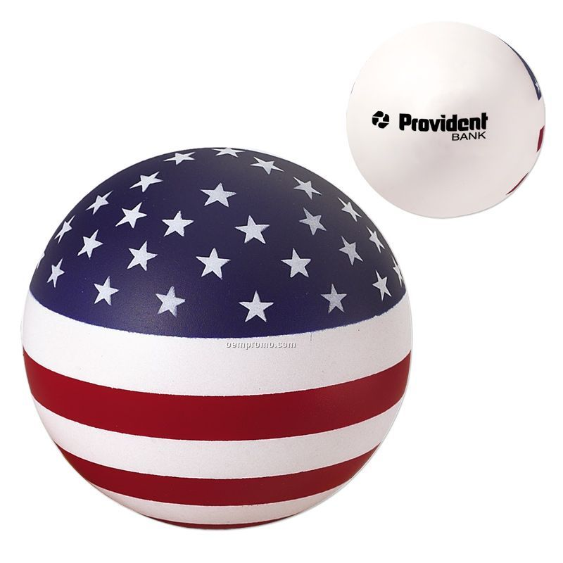 Usa Round Squeeze Toy