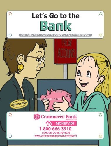 Fun Pack Coloring Book W/ Crayons - Let's Go To The Bank