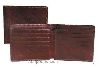 Italian Calfskin Leather Wallet